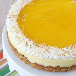 Mango-Coconut-Cheesecake